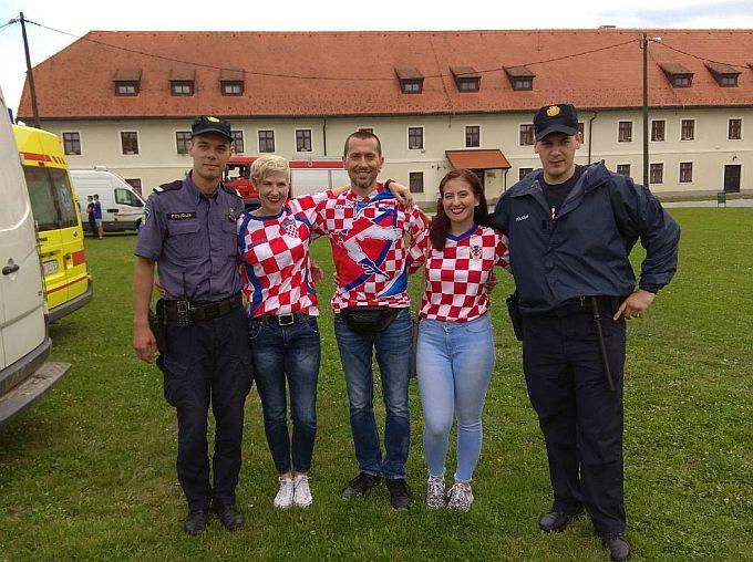 Svjetsko nogometno prvenstvo u Slavonskom Brodu prošlo bez izgreda i policijskih intervencija, svi su bili uz Vatrene