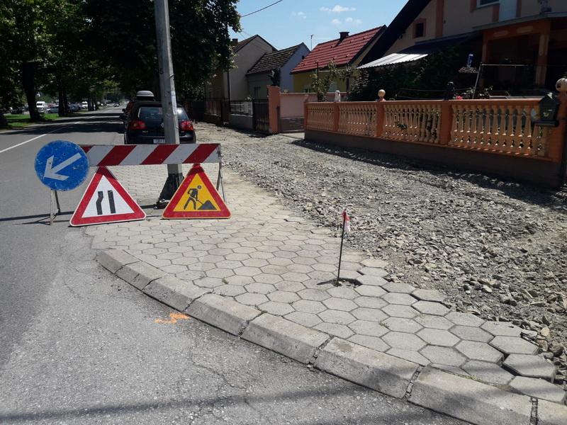 Započela izgradnja biciklističke i pješačke staze u Ulici svetog Lovre