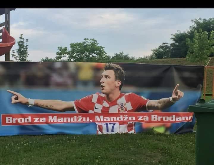Doček Marija Mandžukića u Slavonskom Brodu je u srijedu