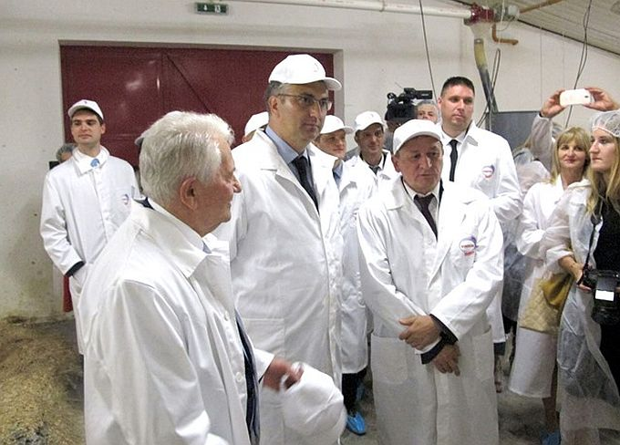 """""""Vindija"""" otvorila 7,4 milijuna kuna vrijednu farmu u Brodskom Stupniku"""