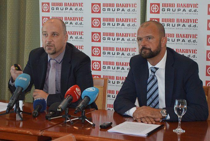 ĐĐ Industrijska rješenja najveći generator gubitka poslovanja ĐĐ Grupe; Tražimo rješenja, kazali danas članovi uprave, Bogdanović i Posavac