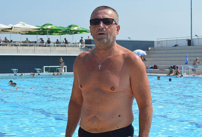 Da se kilogrami tope plivajući dokaz je Damir Krpan, on je svojih tridesetak izgubio
