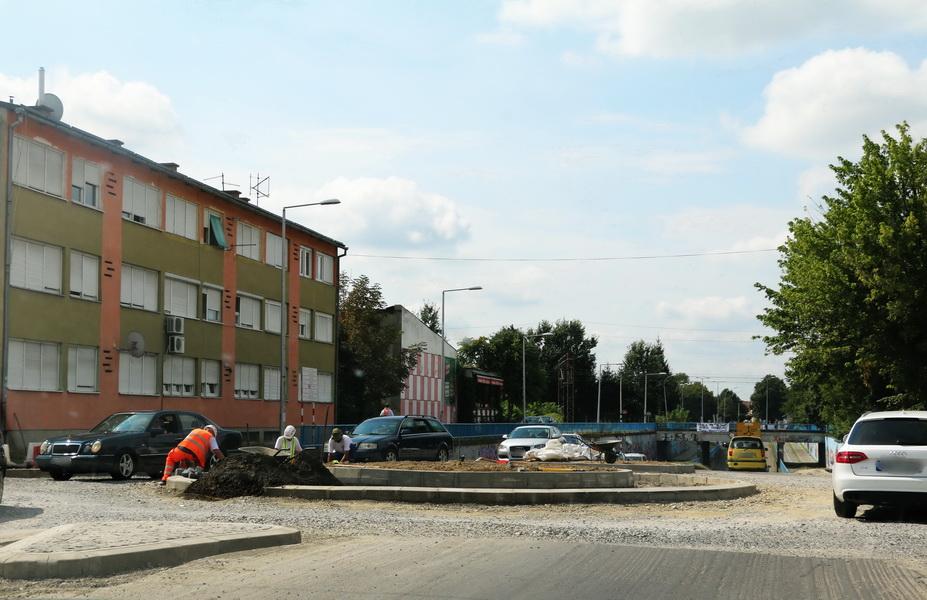 Kružni tok na Kumičićevoj-Budakovoj bit će dva dana zatvoren za promet