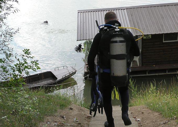 U Savu su danas, u sklopu kampa u Slavonskom Brodu, zaronili ronioci okupljeni iz zemlja u okruženju