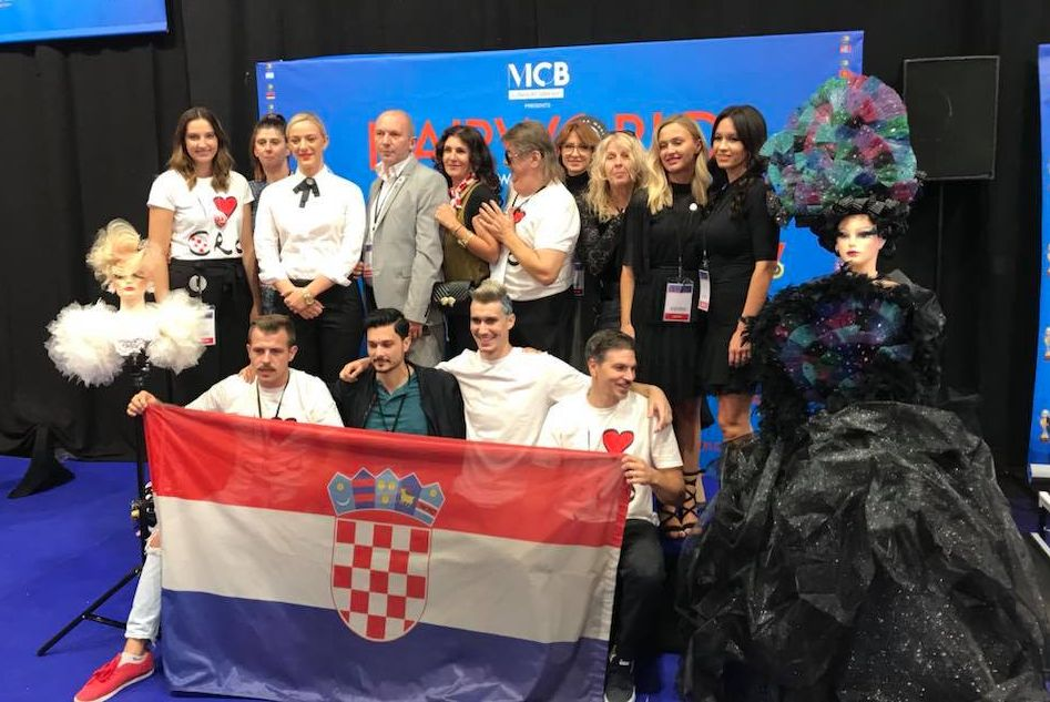 Brodski frizeri odmjerili snage na svjetskom prvenstvu hairstylea, makeUpa i nail arta u Parizu