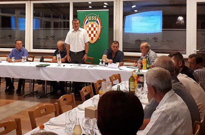 """Osnovan """"Hrvatski sokol"""", asocijacija branitelja HSS-a Brodsko-posavske županije"""
