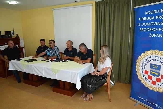 Unatoč neistinama, objedama i insinuacijama, kako su rekli na današnjoj konferenciji, u Koordinaciji su zadovoljni programom Dana branitelja Brodsko- posavske županije