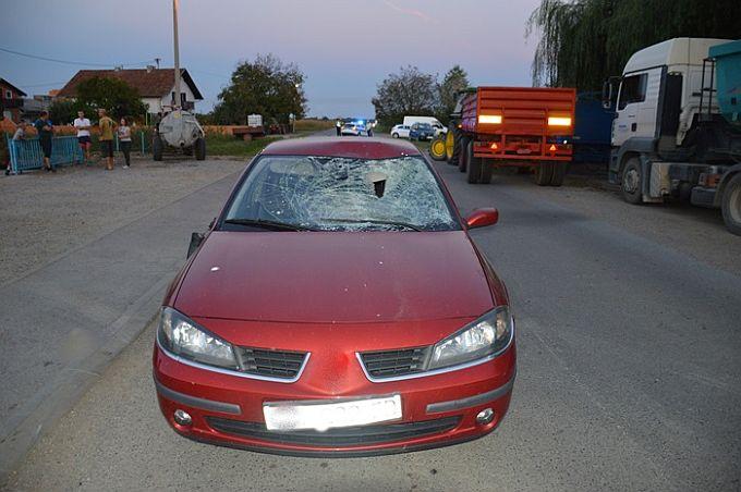 U Gornjoj Vrbi,  prometna nesreća u kojoj je jedna osoba teško ozlijeđena