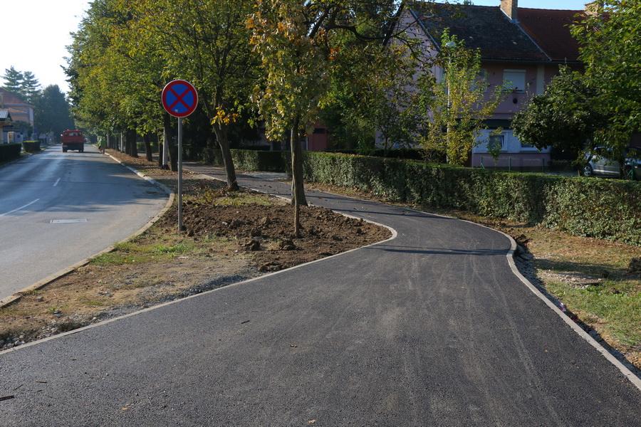 U Gundulićevoj ulici završena je nova pješačka staza