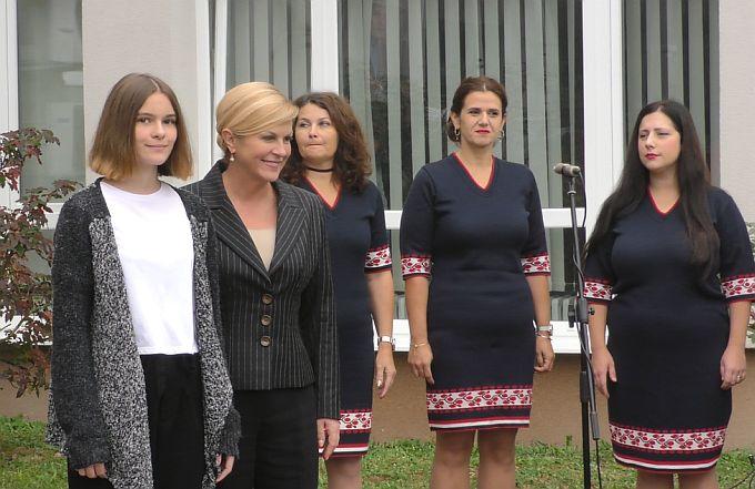 Predsjednica Kolinda Grabar-Kitarović otvorila Ured u Brodsko- posavskoj županiji