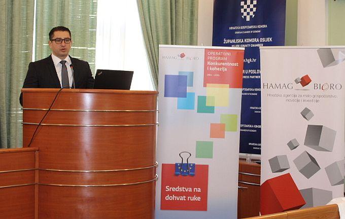 HAMAG- BICRO informirao slavonske poduzetnike o mogućnostima financiranja