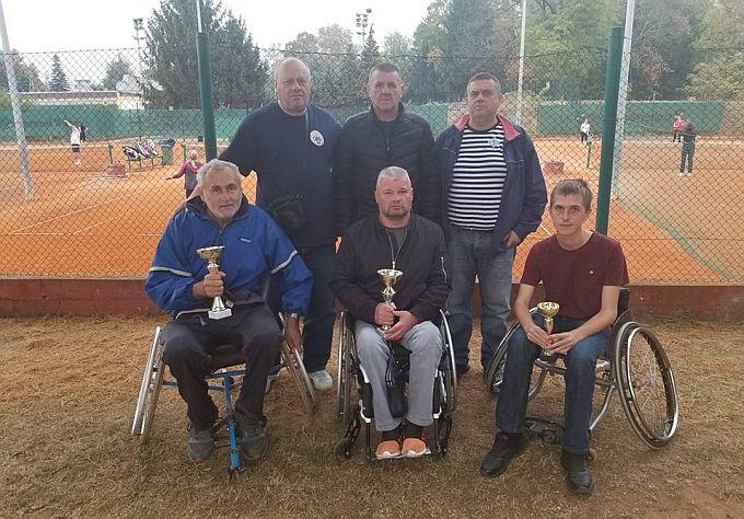 Mario Sosnik pobjednik je tenis turnira za invalide