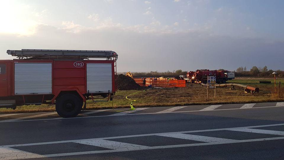 Iz produktovoda je do sada sakupljeno oko 382 tone benzina, koji je odvezen u 51 cisterni