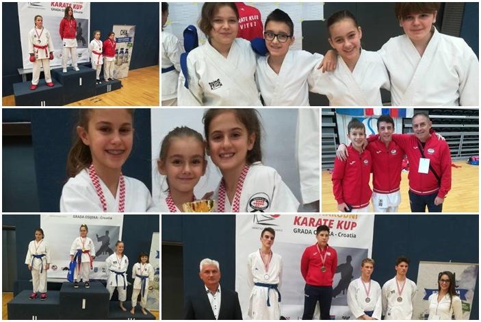 19.  odličja za Brodski karate na Kupu Grada Osijeka