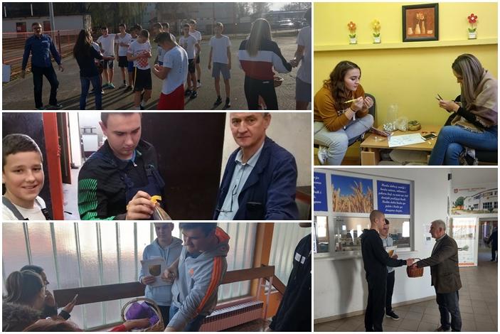 Tek osnovani, a već u akciji, učenici Industrijsko- obrtničke škole kao volonteri organizirani u klub Feniks