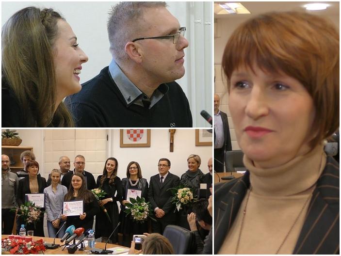 Izabrani su volonteri godine, Jelena Ivaniš, Maja Mišić i Davorin Matanović