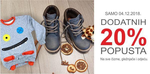 Ne glancajte stare čizmice! Kupite nove uz 20% popusta u Froddo shopu.
