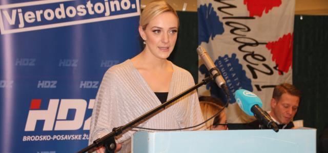 Nakon Marka Šimića, Sanda Livia Maduna nova je predsjednica županijske Mladeži HDZ-a Brodsko- posavske županije