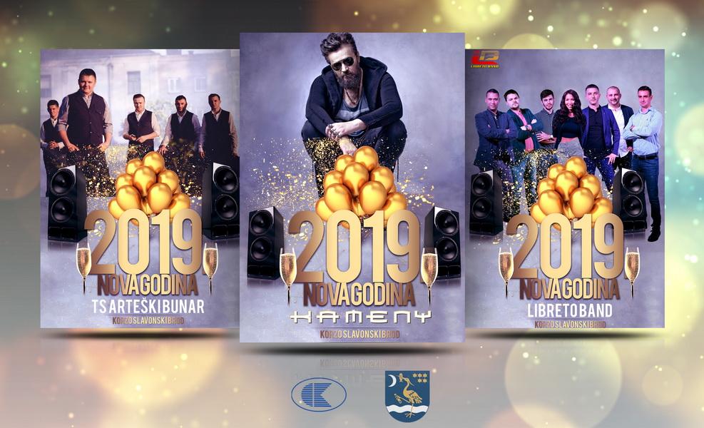 Doček Nove godine na Korzu uz Arteški bunar, Libreto Band i DJ Kamen