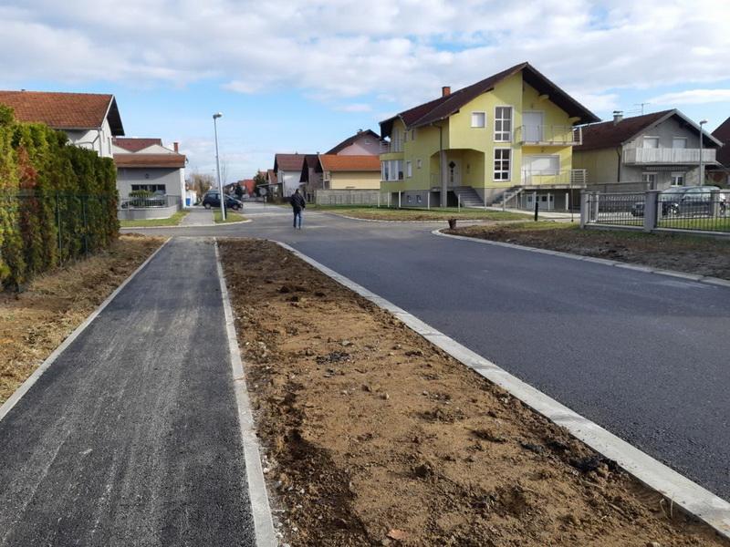 Započelo asfaltiranje spojne ceste između Bilogorske ulice i Ulice Mihovila Pavlinovića