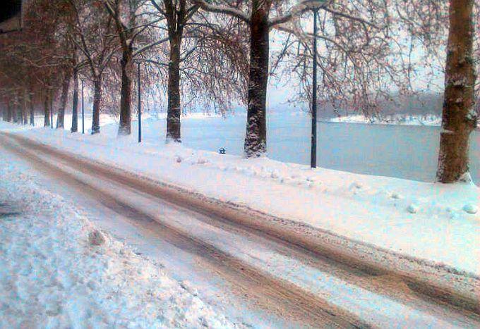 Od snijega danas u Slavoniji još ništa, najavljuju sunčano prijepodne
