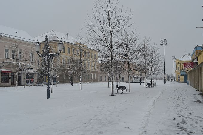 Danas oblačno sa snijegom, kažu prognoze još više će ga biti u poslijepodnevnim satima
