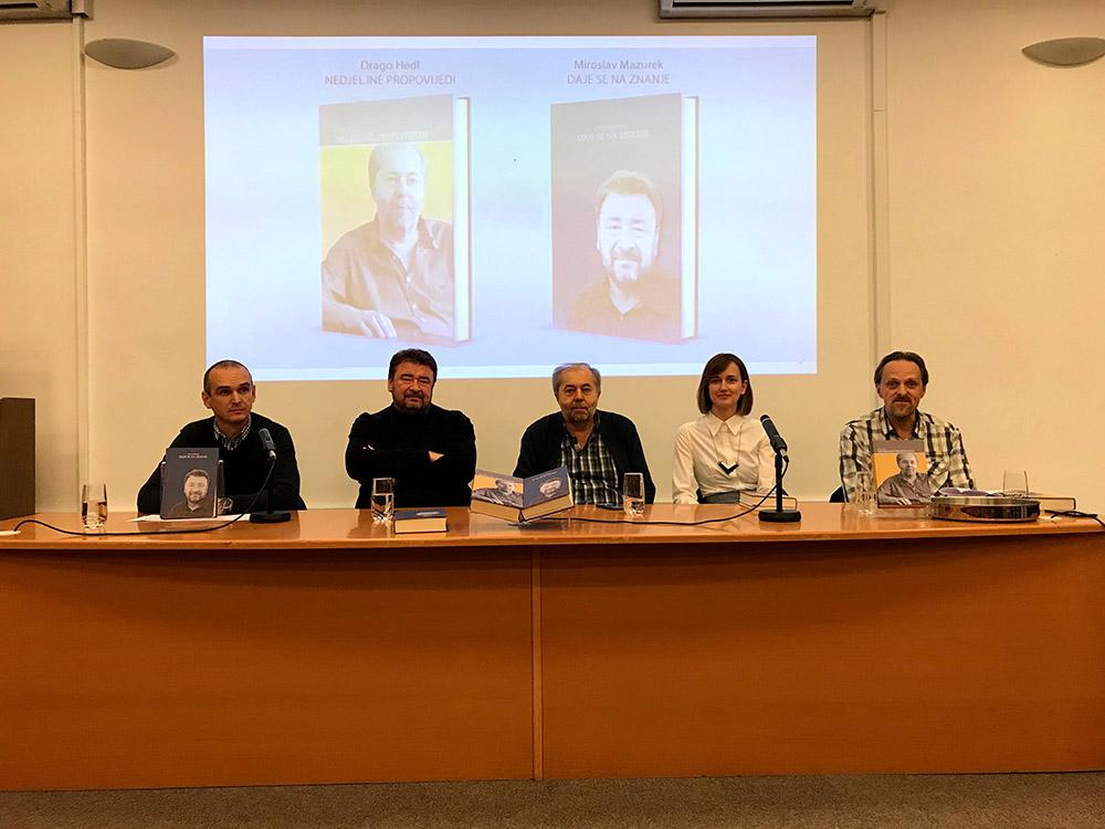 U Gradskoj knjižnici predstavljene knjige Miroslava Mazureka i Drage Hedla