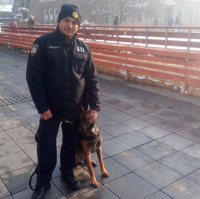 Policijskim ophodnjama u gradu pridružit će se i policijski pas Pike