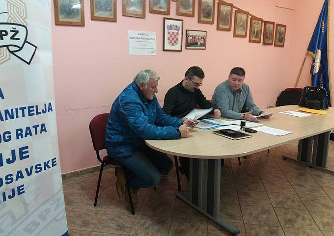 Na Izvanrednoj skupštini UHBDRP BPŽ zbog neopozive ostavke Željka Golubičića, na mjesto predsjednika izabaran Vlatko Krznarić