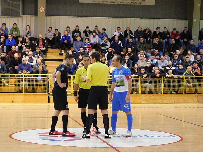 Ispunjena dvorana, sjajna futsal atmosfera, ipak Futsal Dinamo pobijedio domaćine, MNK Brod 035