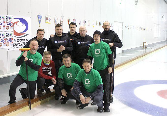 Nakon prvog vikenda, Legija 2 na drugom mjestu 14. Prvenstva Hrvatske u curlingu