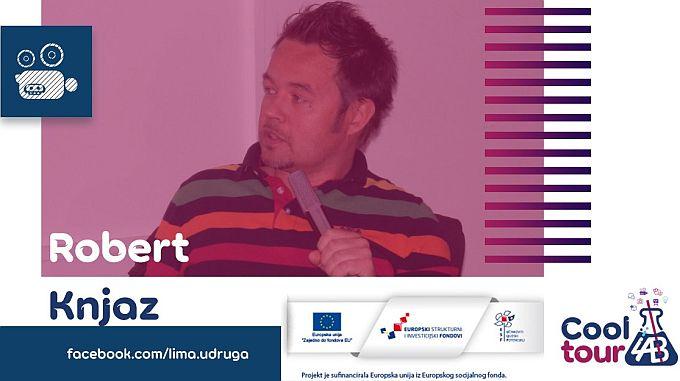 Ne propustite opušteno multimedijalno druženje s jednim od vrhunskih kreativaca, Robert Knjaz u Slavonskom Brodu