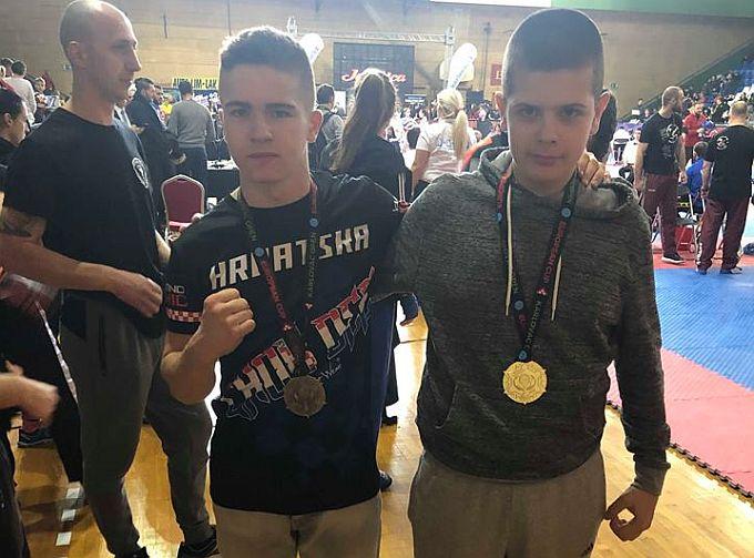 Europski kup u kickboxingu, Ivanu zlato, Valentinu bronca