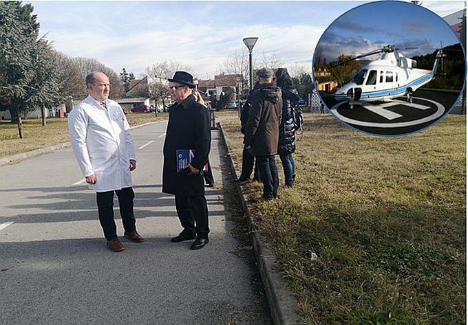 """Nastavljeni preliminarni razgovori oko izgradnje heliodroma u krugu brodske Opće bolnice """"Dr. Josip Benčević"""""""