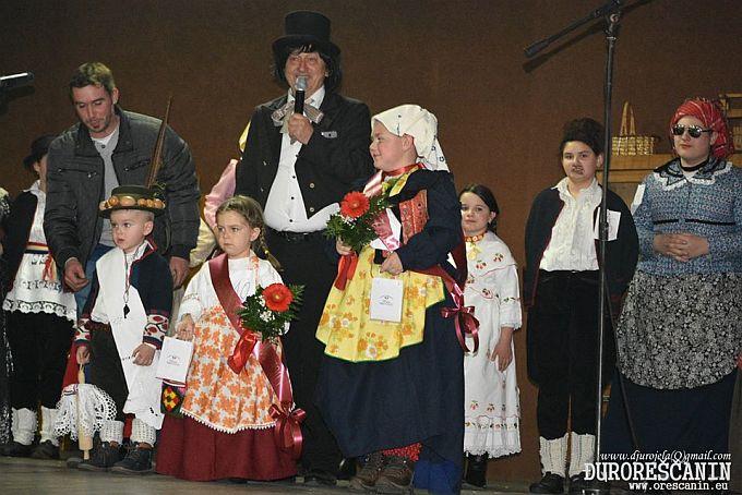 """Luče molovano ove godine je dječak Jakov Mirković iz Donje Bebrine, održana dječja pokladna priredba """"Mastibrk kolombrk"""""""