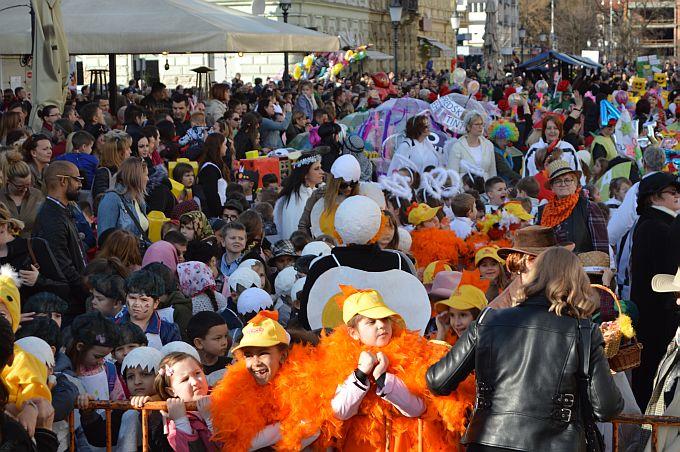 Preko 1400 brodske djece sudjelovalo je na pokladnoj svečanosti, optužili su princa za sve nevolje