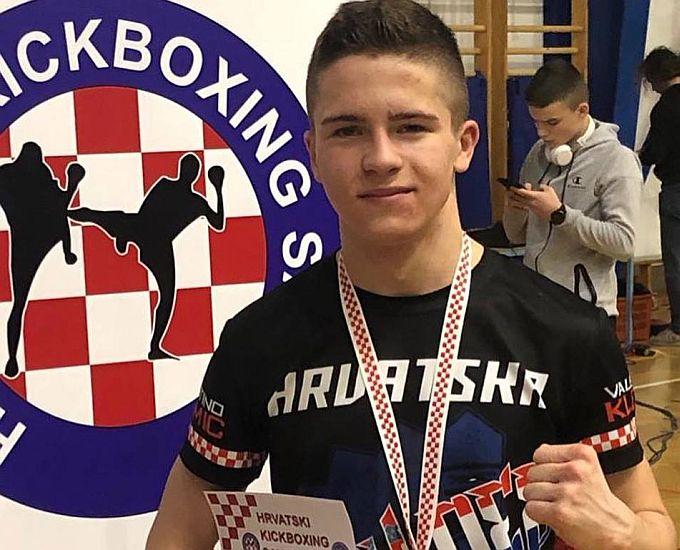 Valentino Klemić prvak je Hrvatske u K1 kikboxingu