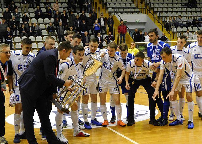 Golijada u Slavonskom Brodu, Uspinjača osvajač malonogometnog Kupa Hrvatske