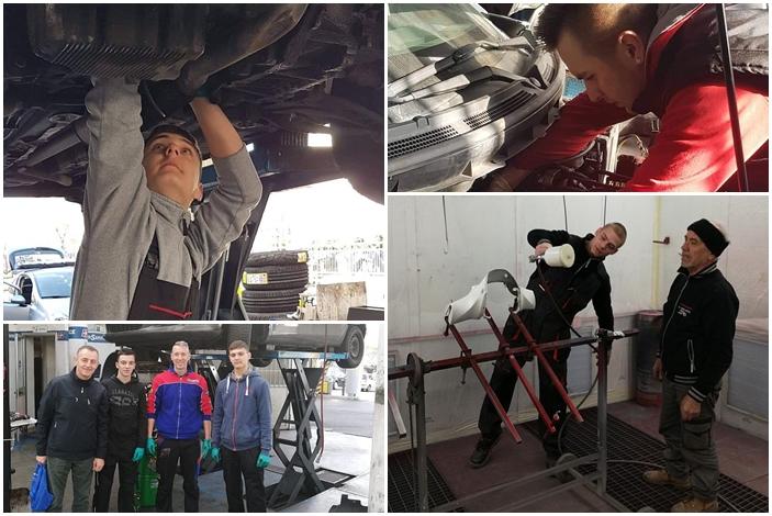 Učenici Industrijsko- obrtničke škole na dvotjednoj stručnoj praksi u Torinu, njih sedamnaest
