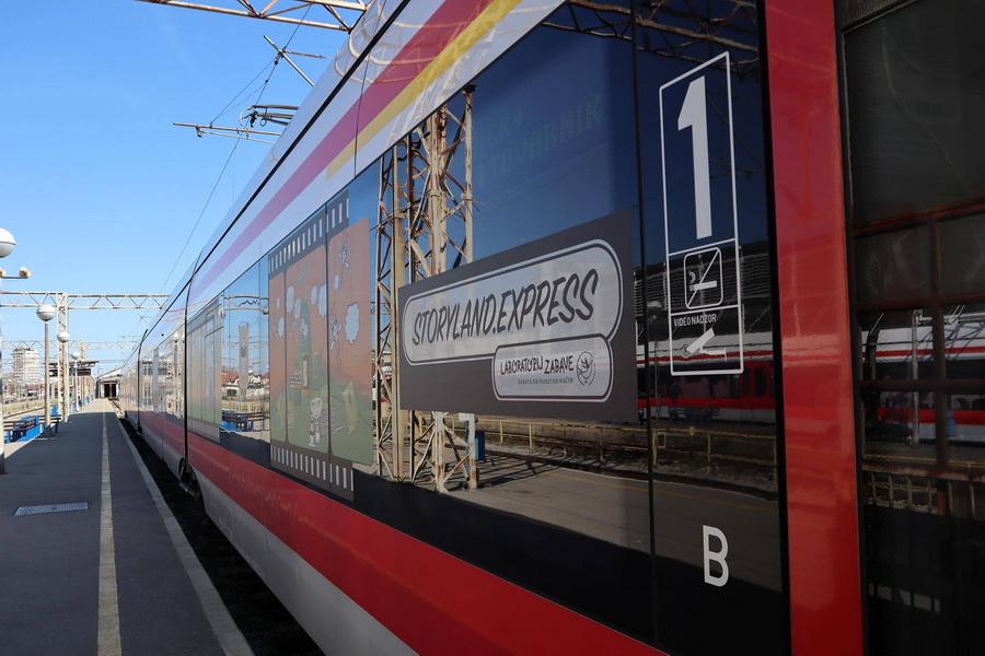 U Slavonski Brod stiže veseli vlak oslikan likovima iz bajki Ivane Brlić- Mažuranić