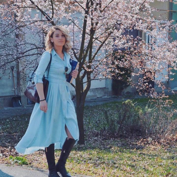 Za početak proljeća osjećajte se dobro u teksas haljinici