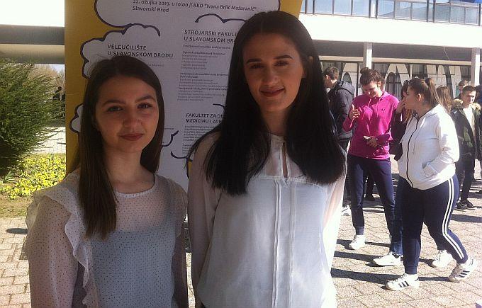 Monika Vidović studentica je 3. godine Učiteljskog fakulteta, kaže: Brod je odlično mjesto za studiranje