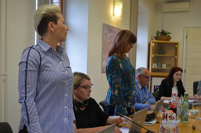 U Gradskom vijeću dogodile su se kadrovske promijene, Lidija Mioč i Ksenija Vargić postale su gradske vijećnice