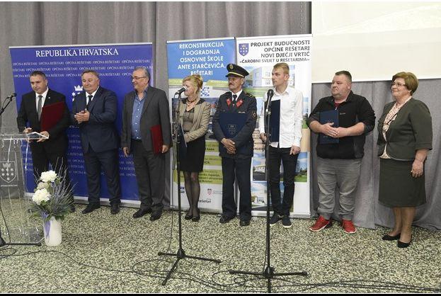 Općina Rešetari obilježila svoj dan, nagrade su uručene zaslužim pojedincima