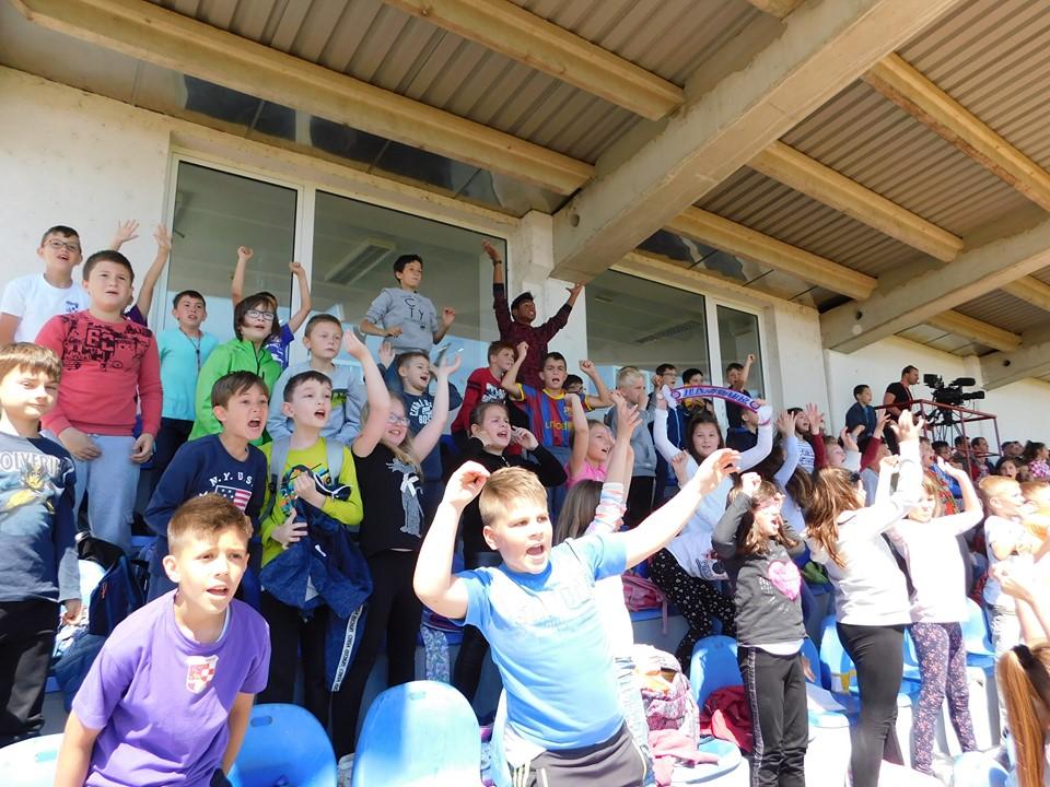 Prepune tribine danas u Slavonskom Brodu na završnici nogometnog  Kupa Hrvatske za mlađe uzraste