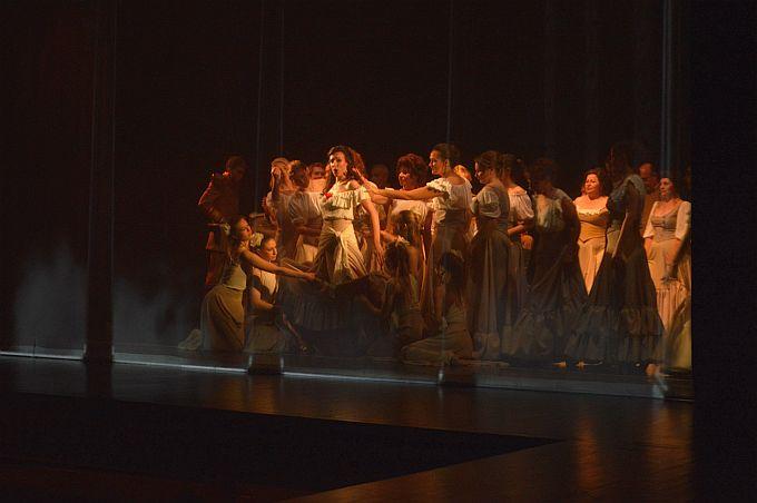 """Prvu 3D verziju opere """"Carmen"""" pogledala je nakon osječke i brodska publika na otvorenju 30. Brodskog glazbenog ljeta"""