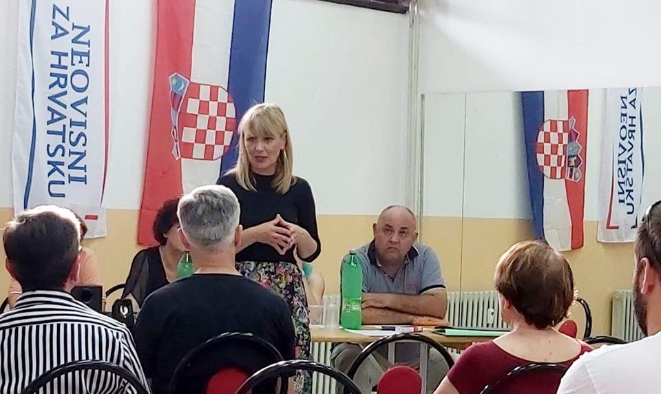 Uz nazočnost Brune Esih osnovana Županijska organizacija, Neovisni za Hrvatsku  županije najavljuju niz aktivnosti