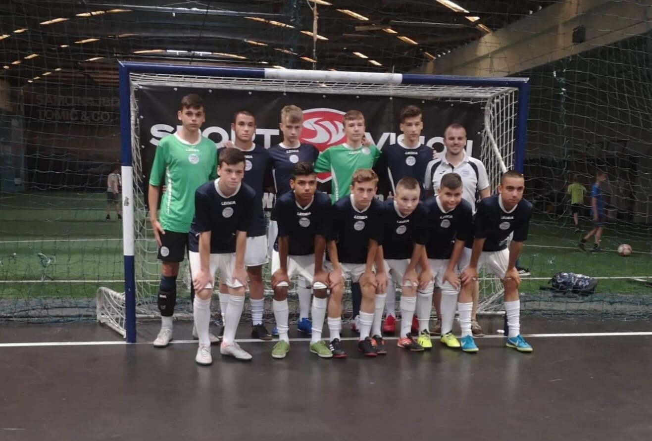 Stariji pioniri MNK Broda osvojili prvo mjesto na prestižnom međunarodnom turniru Futsal CUP Zagreb