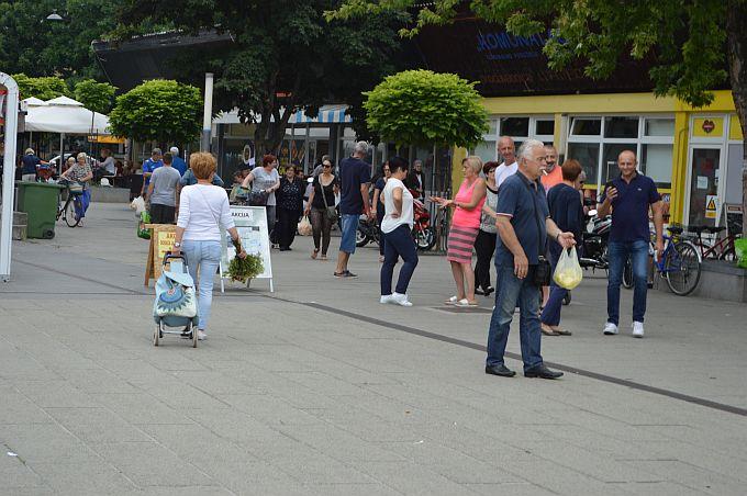 Srijeda sunčana, maksimalan dnevna temperatura 29 u Slavonskom Brodu