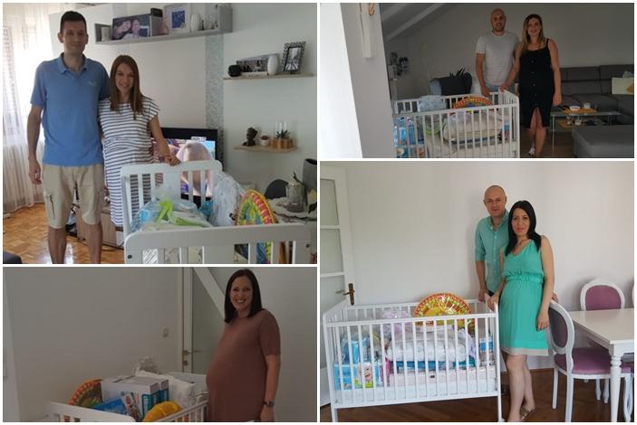 Sretni brodski roditelji u iščekivanju prve prinove u obitelji ne moraju razmišljati o prvim troškovima za krevetić, higijenske, kozmetičke i tekstilne proizvode.